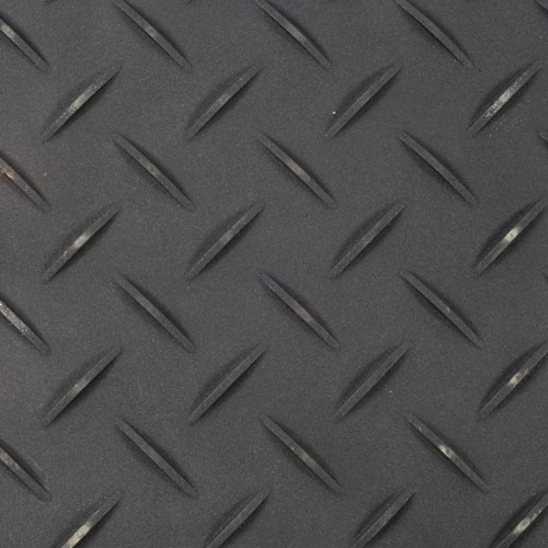 Ground Protection Mats 3x6 ft Black treds