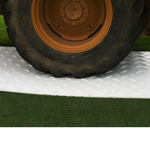 Ground Protection Mat-Pak 3x8 Ft White Mat-Pak heavy equipment tire