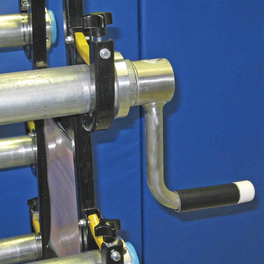Safety Storage Racks 10 Rollers