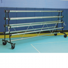Safety Storage Racks 8 Rollers