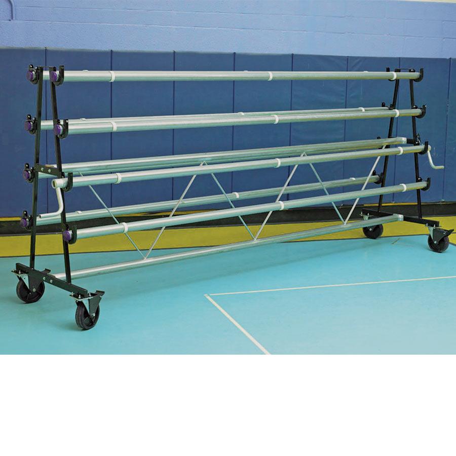 roll racks rack cosmecol holder jabaayave vinyl storage