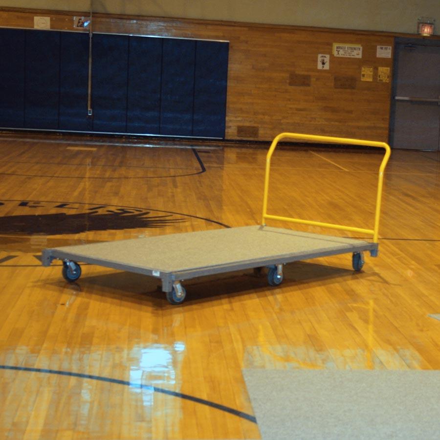 Gym Floor Carpet Cart For