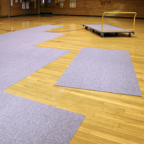 gym floor carpet covering protective floor cover