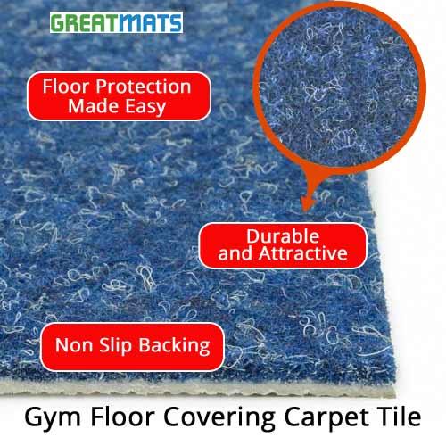 Portable Gym Floor Carpet Covering