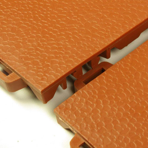 StayLock Orange Peel Colors Terracotta Interlock.