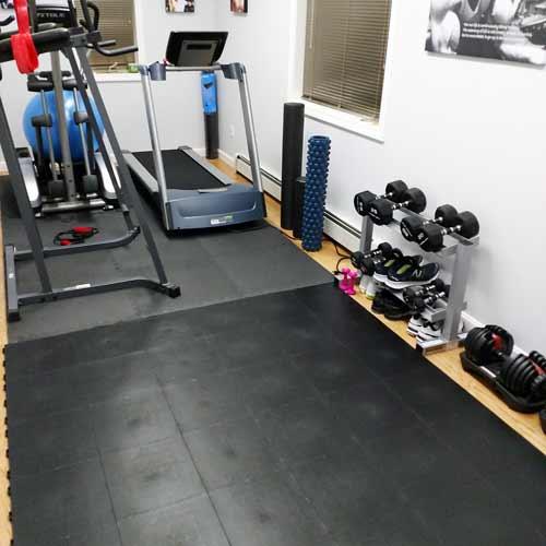 Gym Floor Tiles Staylock Orange Peel Tile Black