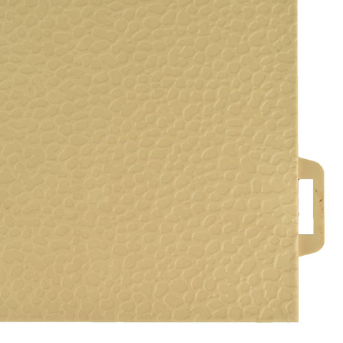 StayLock Orange Peel Colors tan tile.