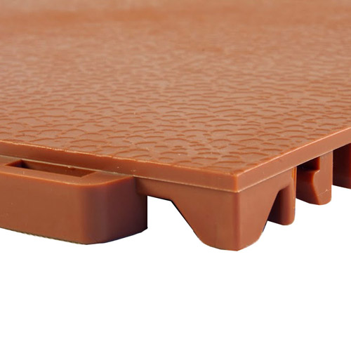 StayLock Orange Peel Colors terracota tile.