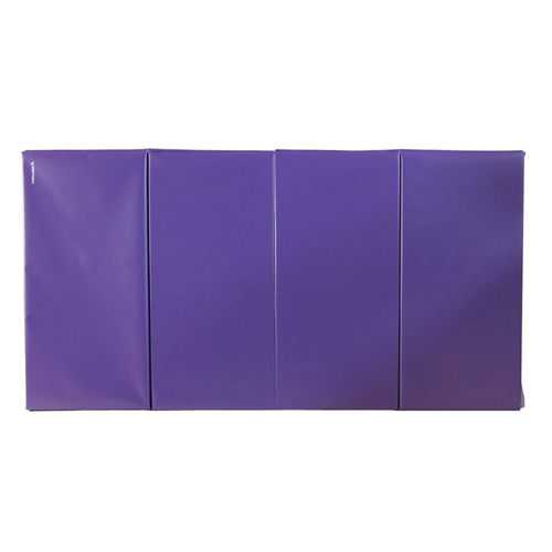 Gym Mats 4x8 Ft x 1.5 inch 4V 18oz purple mat.