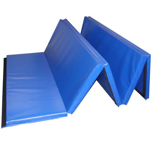 Folding Gym Mats 5x10 Ft X 2 Inch Martial Arts Folding