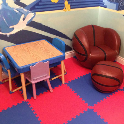 Rubber flooring kids room gurus floor for Mats for kids room