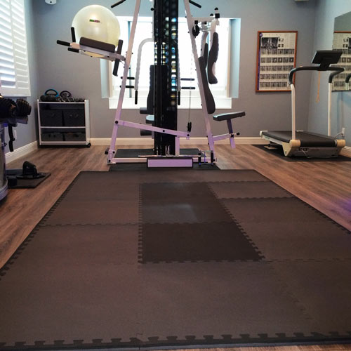 Do Rubber Mats As Gym Flooring Damage Hardwood Floors