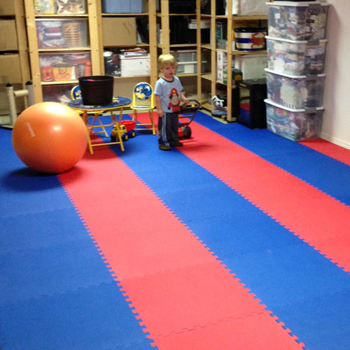 Rubber Play Mats Play Mats For Kids Home Exercise Foam