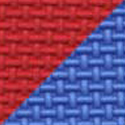 Home Exerice Foam Floor red blue swatch.