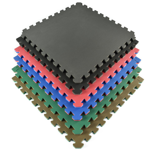 Home Sport and Play Mat 7/8 Inch colors stack.