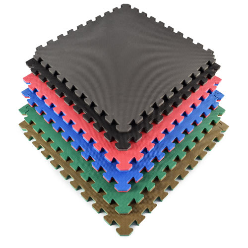 Exercise Foam Floor Mats - Foam Play Mat, Interlocking