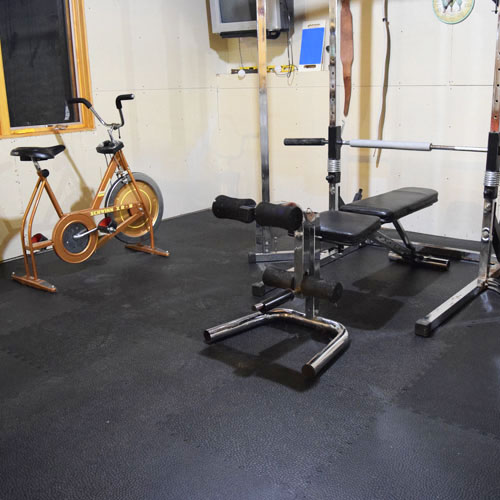 Home Gym Flooring Options Over Concrete