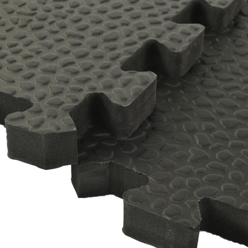 Exercise Room Flooring Pebble Top Foam Tiles Exercise