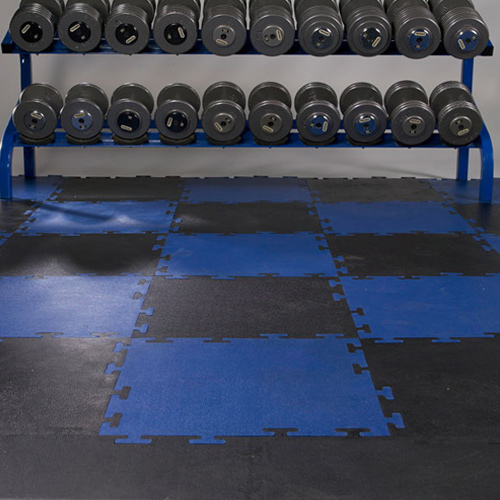 Home gym floor for free weights flooring