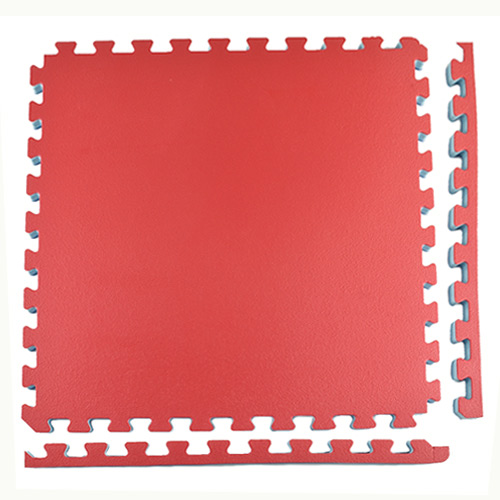 Home Karate Sport Foam Tile 1 Inch full with borders.