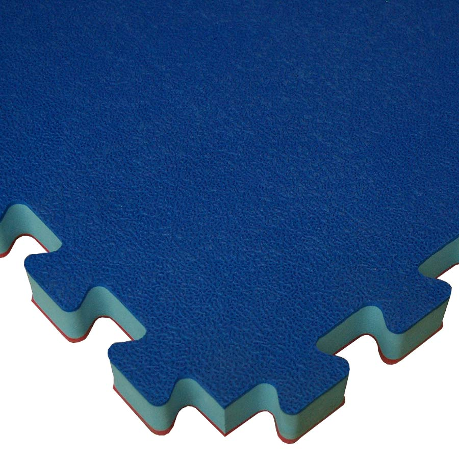 Home Sport Floor Foam Showing Close Up Of Blue Mat