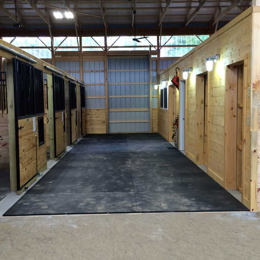 Horse Stall Mats Custom Kit Sizes horse barn.