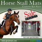 Horse Stall Mats Custom Kit Sizes thumbnail