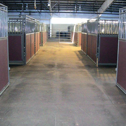 Black Straight Edge Stall Mats Horse Stall Mats 4x6 Ft X