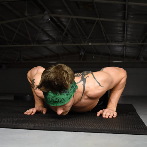 4x6 Ft x 3/4 Inch Straight Edge Punter Standard push up.