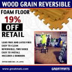 Wood Grain Reversible Foam Floor thumbnail