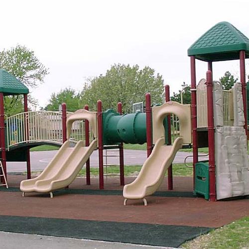 Rubber Playground Tiles Interlocking 2 5 Inch Playground