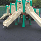 Bounce Back Playground Tile 1.75-2.5 Inch Black