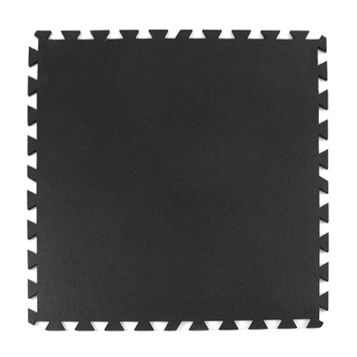Interlocking Rubber Flooring 8 Mm Black Geneva Rubber Floor Tile