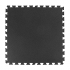 Geneva Rubber Tile 3/8 Inch Black
