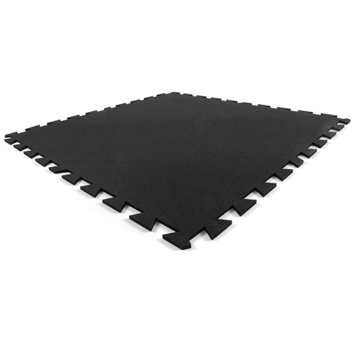 Rubber Flooring Tile 38 Inch Black Rubber Gym Flooring Tile