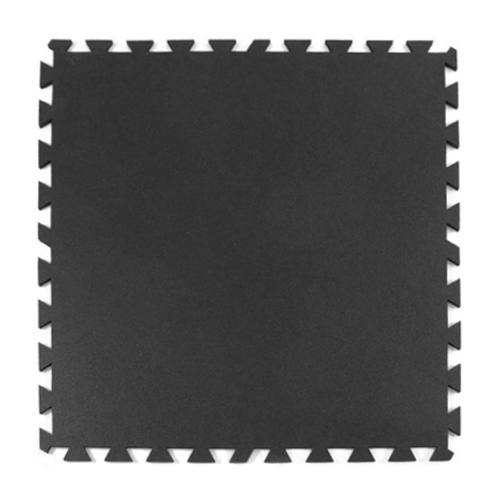 Geneva Rubber Tile 3/8 Inch Black.