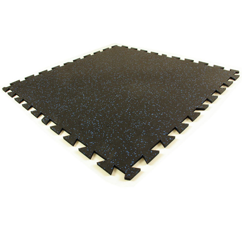 Geneva Rubber Tile 3/8 Inch 10% Color tile.