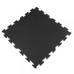 Interlocking Rubber Tile 2x2 Ft x 8 mm Black ...