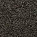 Interlocking Rubber Tile 2x2 Ft x 8 mm Black color swatch.