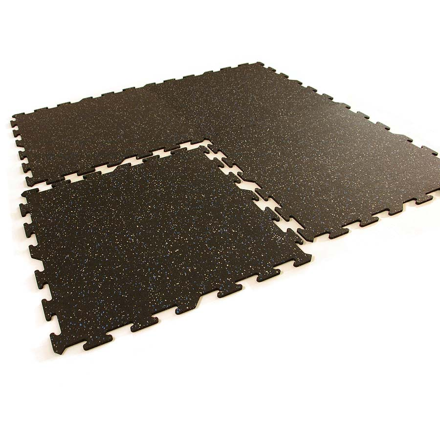 Interlocking rubber floor tiles interlocking rubber mats for Rubber flooring