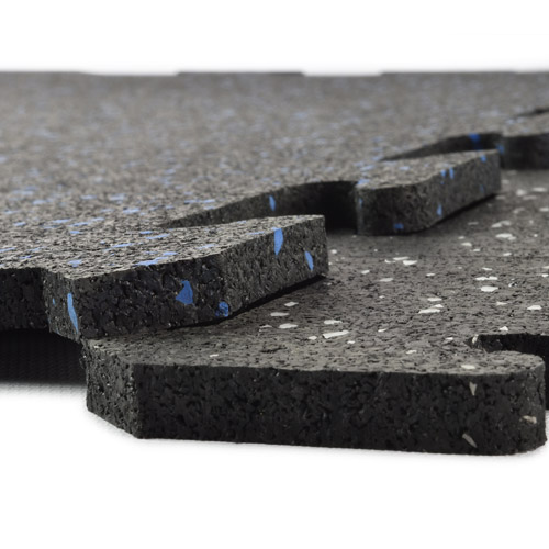 How To Install Interlocking Rubber Tiles Over Concrete