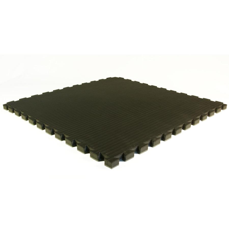 Judo Mats Lite 1 25 Inch Black Tile