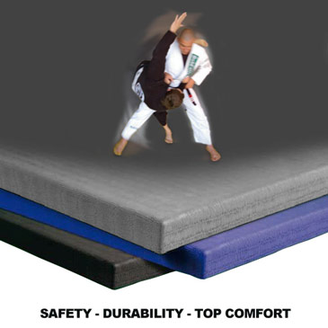 Judo Mats 1x2 Meter 1.5 Inch Blue front image