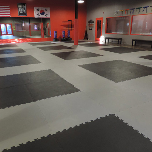 Rubber Garage Floor Mats >> Karate Mats - Interlocking Karate and Taekwondo Mats for Martial Arts