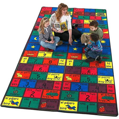 Amigos Kids Rug 3 x 6 feet