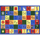 Around The Block Kids Rug 5 feet 4 inches x 7 feet 8 inches