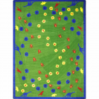 Dinosaur Walk Kids Rug 7 feet 8 inches x 10 feet 9 inches