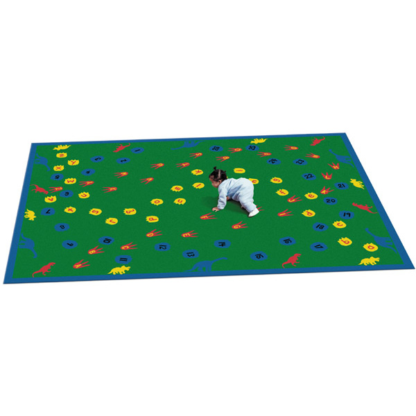Dinosaur Walk 7 feet 8 inches x 10 feet 9 inches toddler