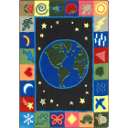 Earthworks Kids Rug 3 feet 10 inches x 5 feet 4 inches