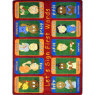 First Signs Kids Rug 5 feet 4 inches x 7 feet 8 inches